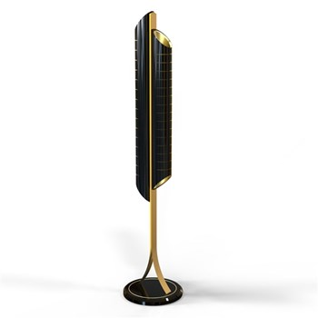 Zam Cetus  Floor Lamp with custom finishes