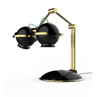 Gliese Adjustable Table Lamp  with Custom Finishes
