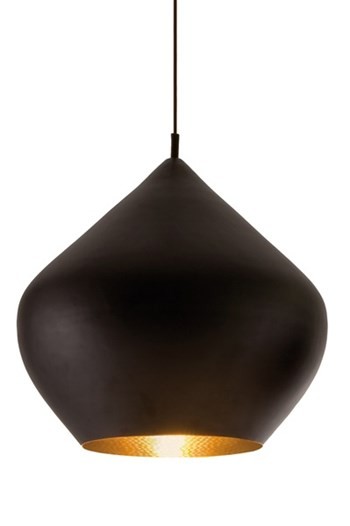 Tom Dixon Beat  Stout, Pendant Light, Black