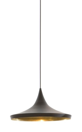 Tom Dixon Beat  Wide, Pendant Light, Black