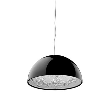 Flos Skygarden  1 ES, Suspension Pendant Light, Glossy Black
