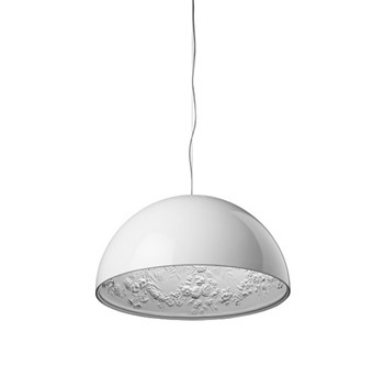 Flos Skygarden  1 ES, Suspension Pendant Light, Glossy White
