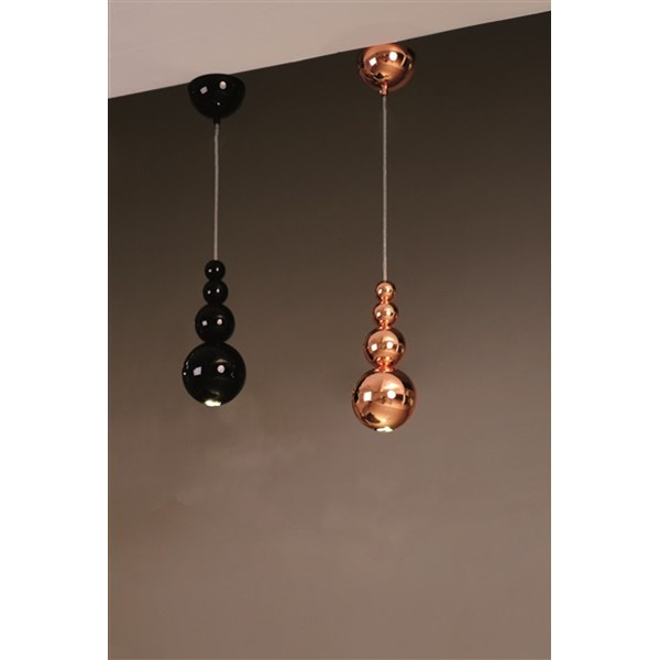 Innermost Bubble  Black & Copper