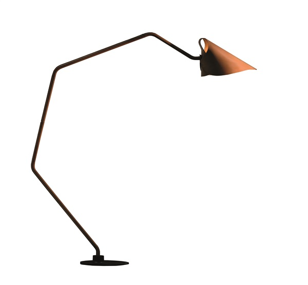 Floorlamp Coated Steel