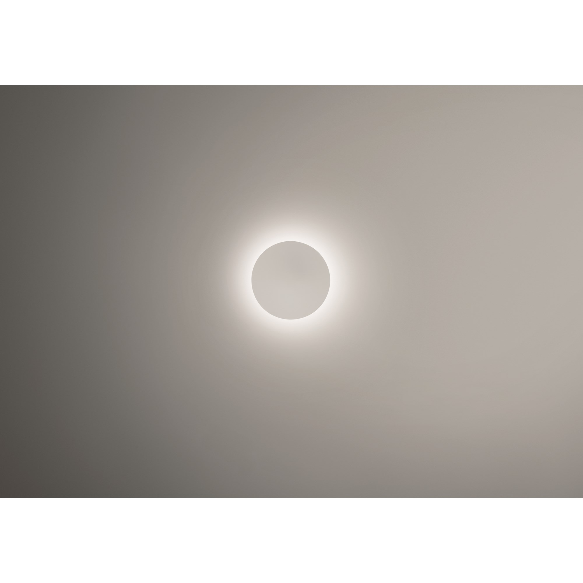 Vibia Puck Wall Art with Large Wall Light