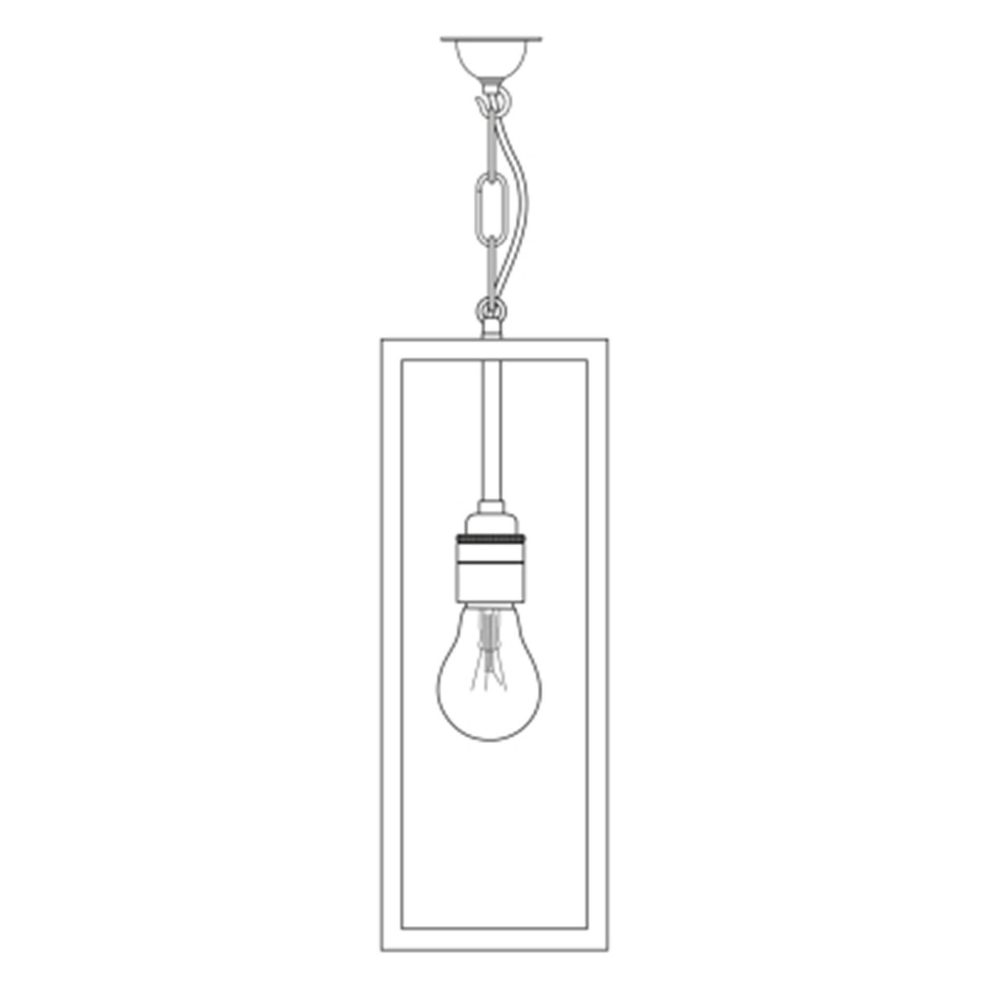 Davey Lighting Box Narrow Pendant Light with Internal ...